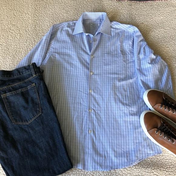 Haggar Other - Haggar Spread Collar Dress Shirt NWOT Size 15-15.5